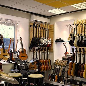 Музыкальные магазины Северска
